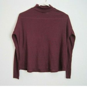 H&M Long Sleeve High Neck Shirt - Size Small